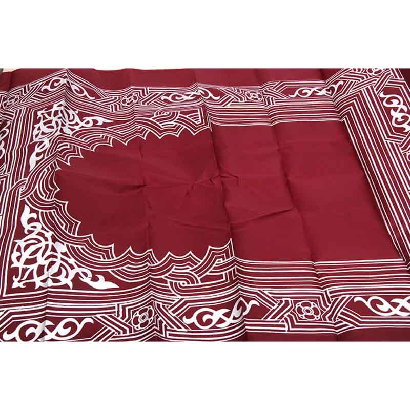 Image 2 - Portable Prayer Rug Waterproof Pocket Muslim Prayer Rug Mat Blanket with Pouch Oxford Fabric100*60cmMat