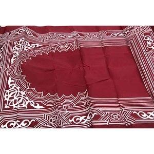 Image 2 - 휴대용기도 깔개 방수 포켓 이슬람기도 깔개 매트 담요 파우치 옥스포드 fabric100 * 60cm