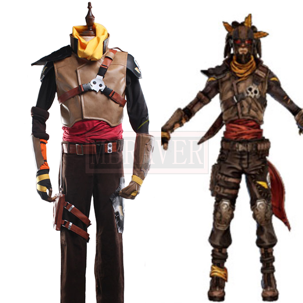 <font><b>Borderlands</b></font> 3 Mordecai Cosplay <font><b>Costume</b></font> Party Christmas Halloween Custom Made Any Size image
