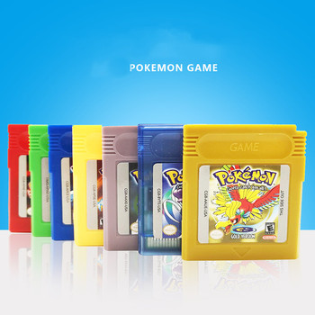 Pokemon GBC Games Series 16 Bit Video Game Cartridge Console Card Classic Card Game Collect Colorful Version English Language