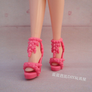 1/6 Doll Shoes Mix style High Heels Sandals Boots Colorful Assorted Shoes Accessories For Barbie Doll Baby Xmas DIY Toy 10