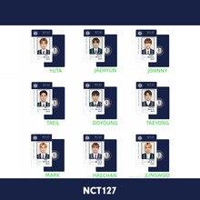 Kpop NCT 127 Autograph Photocard Taeyong Haechan PVC Photo Card Jungwoo Taeil HD Collective Card