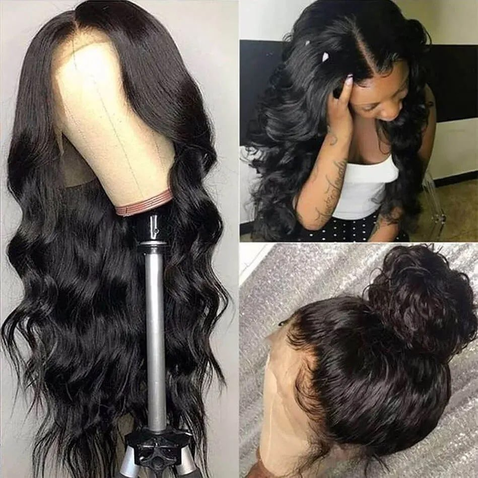 Brazilian Body Wave Wigs Pre Plucked Lace Front Wigs Virgin Hair Lace Wig 13x4 Lace Front Human Hair Wigs For Black Women
