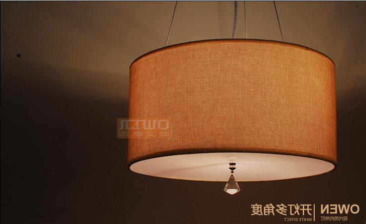 40cm Modern Casual Fabric Suspended Luminaire E27 110-240v Pendant Lights For Home Parlor Dining Room Luminaria Pendente