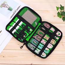 Gadget Organizer USB Cable Storage Bag Travel Digital Electronic Accessories Pouch Case USB Charger Power Bank Holder Kit Bag(China)