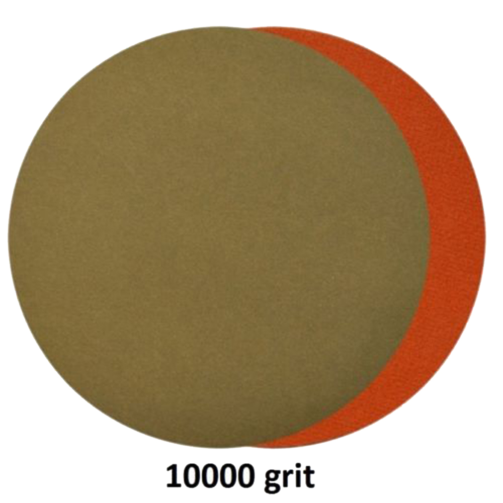 2019 Hot 20 X Water Sandpapers 3000 / 5000 / 7000 / 10000 Grit 6 Inch Suitable For 6 Inch Abrasive Pad