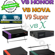 Nova Satellite-Decoder Honor Gtmedia V8x Freesat V9 Super-H.265 DVB-S2 by HD Newest Upgraded