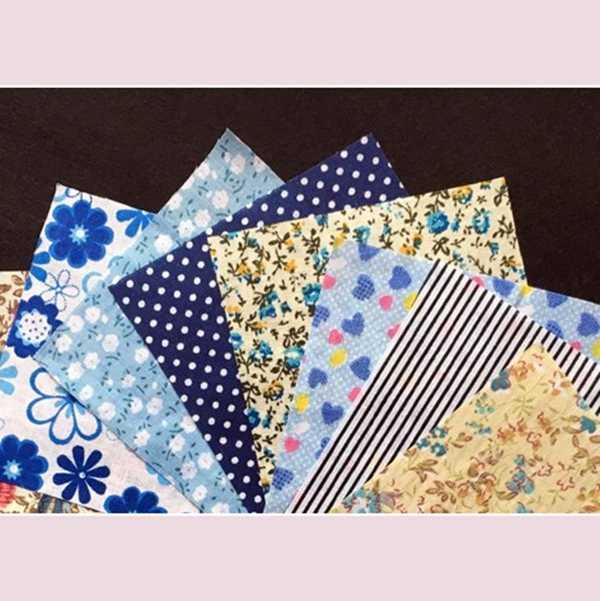 DIY Лоскутная нашивка 60 шт 10 см x 10 см очаровательный пакет лоскутное изделие из хлопчатобумажной ткани комплект ткани ткань шитье