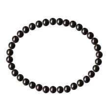 2020 New Fashion Pave Men bracelet Natural Gemstone Round Spacer Loose Beads 1 Strand (Black Hematite 8mm 45Beads) gifts(China)
