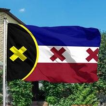 Bandera de los sueños de Lmanburg, 90x150cm, bandera nacional de poliéster de latón, ojales