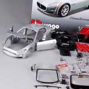 Image 3 - Maisto bburago 1:24 gt グランツーリスモ組立 diy レースダイキャストモデルキット車のおもちゃ子供のおもちゃオリジナルボックス送料無料