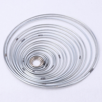 22 sztuk zestaw metalowa obręcz Dreamcatcher pierścień ściany wiszące makrama Craft domu DIY wystrój Au08 19 Dropship tanie i dobre opinie OOTDTY CN (pochodzenie) miłość Nowoczesne