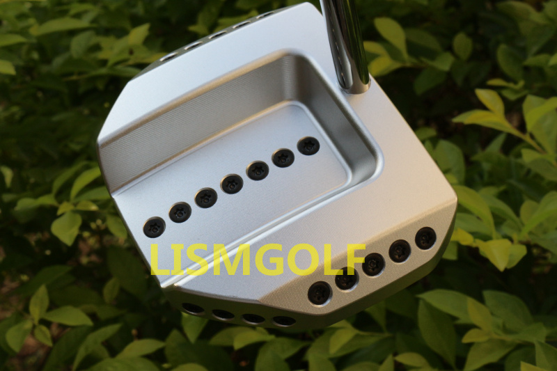 DRONE C Golf Putter Screw Removes Silver Golf Club Putter With Head Cover, Free Shipping