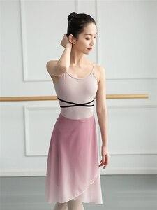 Image 5 - Girls Ballet Leotard Ballerina Party Sleeveless Dance Gymnastics Jumpsuit Ballet Costumes Turnpakje Bodysuit for Tutu Dancerwear