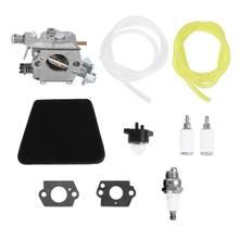Carburador carb kit peças de reposição apto para poulan motosserra 1950 2050 2375 2150