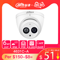 Сетевая купольная мини-IP-камера Dahua IPC-HDW4631C-A 6 МП HD POE металлический чехол со встроенным микрофоном CCTV 30 м Onvif IR Обновление от IPC-HDW4433C-A