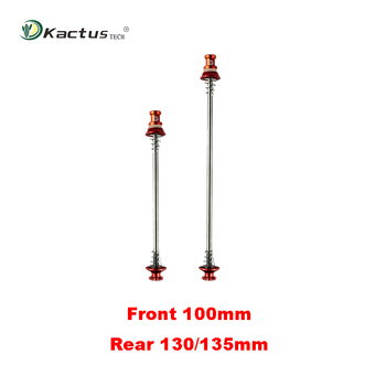 Kactus Bicycle Quick Release Skewers 36g/pair Ultra Light Titanium Skewer Lever QR Cycling Ti Axle Wheel Hub for MTB Road Bike