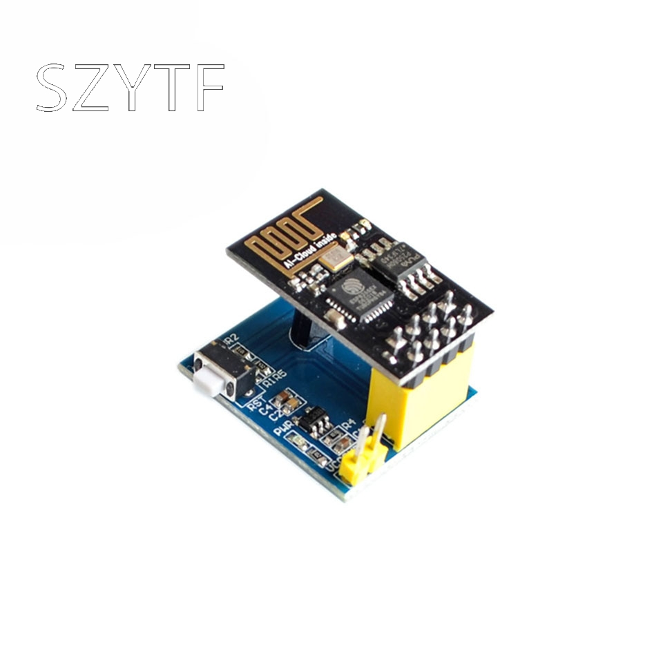 ESP8266 ESP-01 ESP-01S DS18B20 Temperature WiFi Wireless Node Module