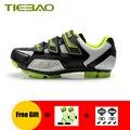 TIEBAO  обувь для велоспорта  mtb  бутсы для женщин и мужчин  дышащая обувь для горного велосипеда  уличная самозапирающаяся велосипедная обувь д...