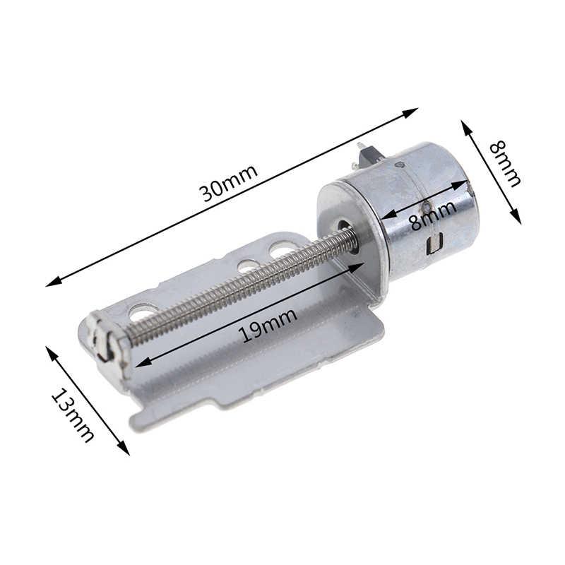 Haste do parafuso Do Motor de Passo Com Controle Deslizante 2-Fase 4-Fios Motor de Passo Micro Motor de Passo Linear Mesa Deslizante para o Posicionamento DIY
