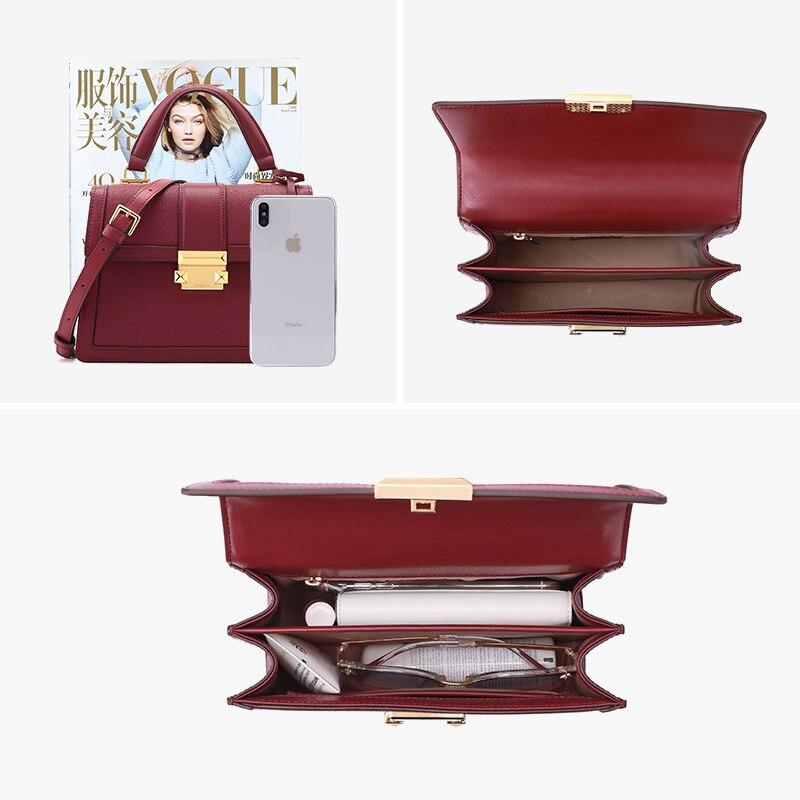 Image 4 - LAFESTIN 2019 new luxury handbags fashion leather handbag  qualities shoulder messenger bag ladies tote bolsa femininaShoulder  Bags