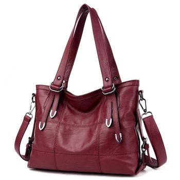 Kobiety luksusowe torebki damskie torebki projektant torebki Crossbody miękkie torebki ze skóry PU projektant torby na ramię Top w stylu Vintage-torby z uchwytami tanie i dobre opinie Torebka na co dzień Na ramię i torby crossbody CN (pochodzenie) zipper SOFT Boczna kieszeń POLIESTER Versatile WOMEN