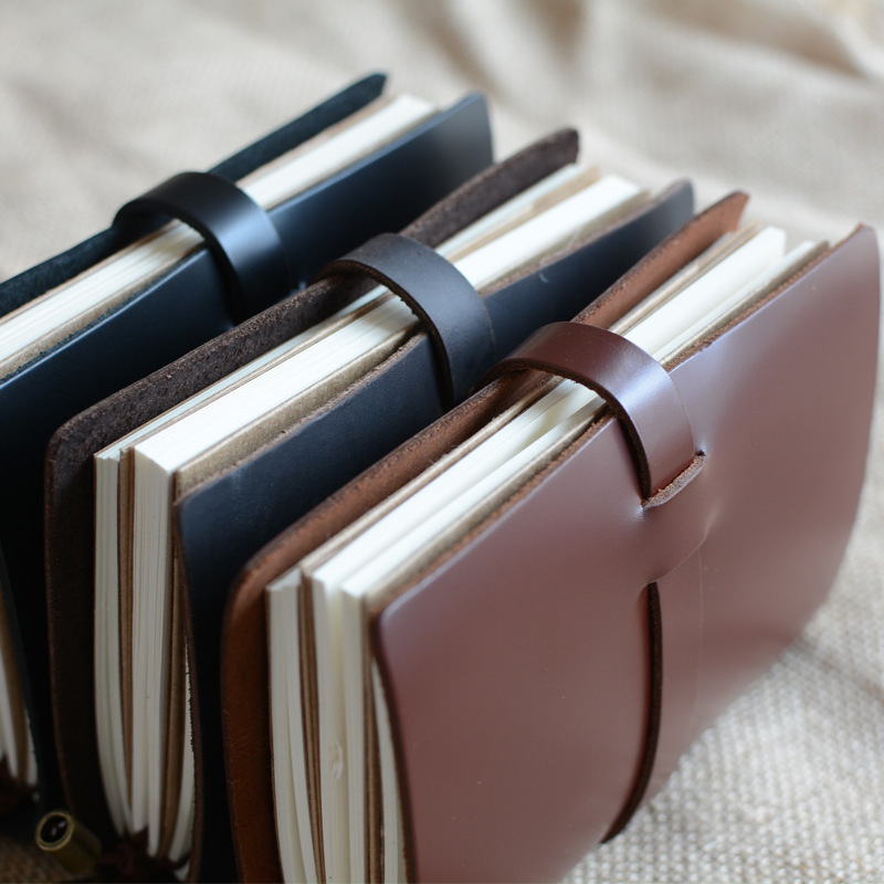 leather travel journal