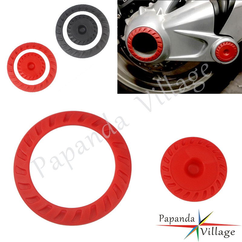 2x ABS Plastic Motorbike Right Angle Gearbox Final Drive Cover Rear Drive Shaft Covers For BMW <font><b>R1200GS</b></font> 2008 2009 2010 <font><b>2011</b></font> 2012 image