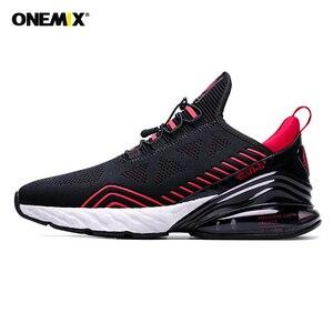 Offre spéciale Air 270 chaussures de course hommes femmes Onemix Sports de plein Air marche athlétique unisexe baskets respirant tricoté maille baskets