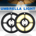 USB открытый полюс палатка кемпинг огни перезаряжаемые зонтик светодиодные лампы для фонаря пляж садовый зонтик для Патио Свет