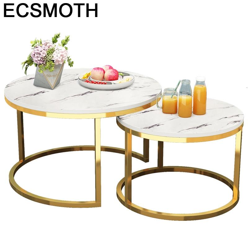 Stolik Kawowy Criado Mudo Tafel Bijzettafel Coffe Bedside Minimalist Desk Masa Living Room Side Mesa Basse Coffee Tea Table