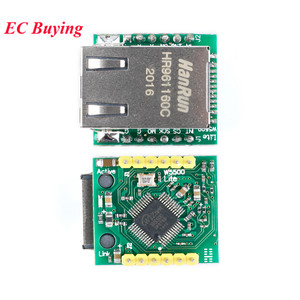 USR-ES1 W5500 SPI к локальной сети Ethernet сетевой модуль TCP IP STM32 интерфейс 3, 3 V 5V Для Arduino WIZ820io RC5 Интернет вещей
