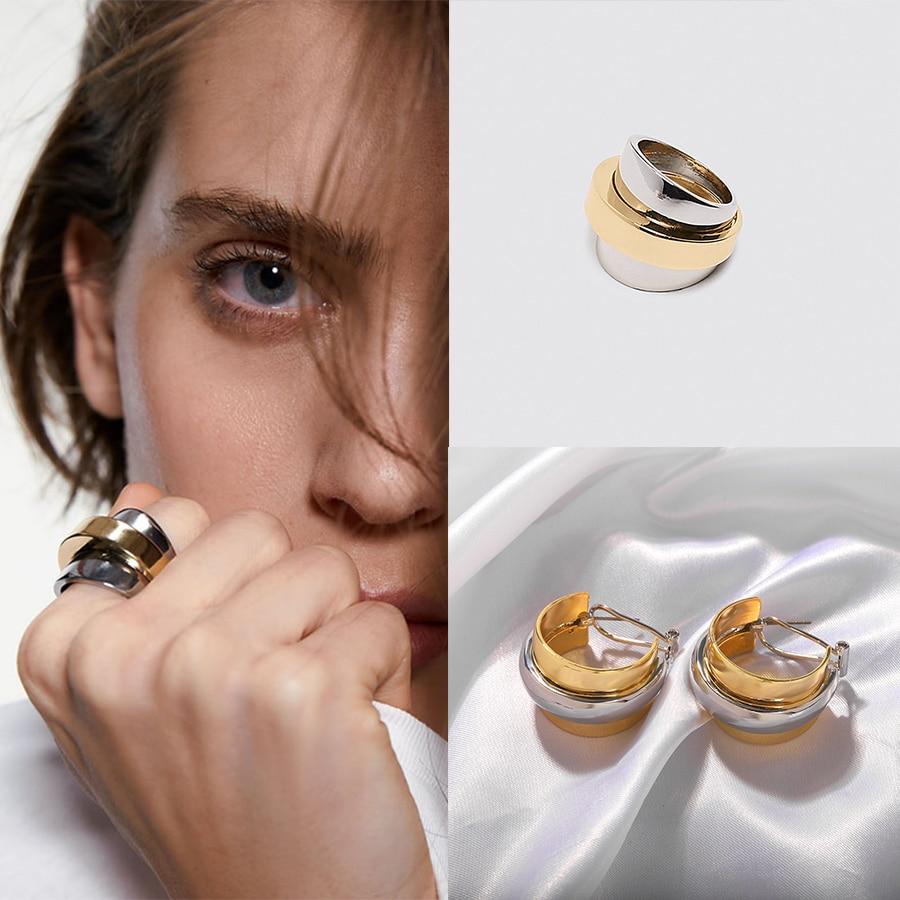 Emingo plus récent pierre cerceau perles bague Fruit ananas pastèque Lime coloré conque cerceau anneau pour femmes anneau bijoux