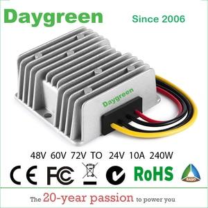 Image 1 - 40 95V TO 24V 10A 20A  DC DC Step Down Converter  Regulator Waterproof Buck Module 48V 60V 72V TO 24V 10A 20APower Supply