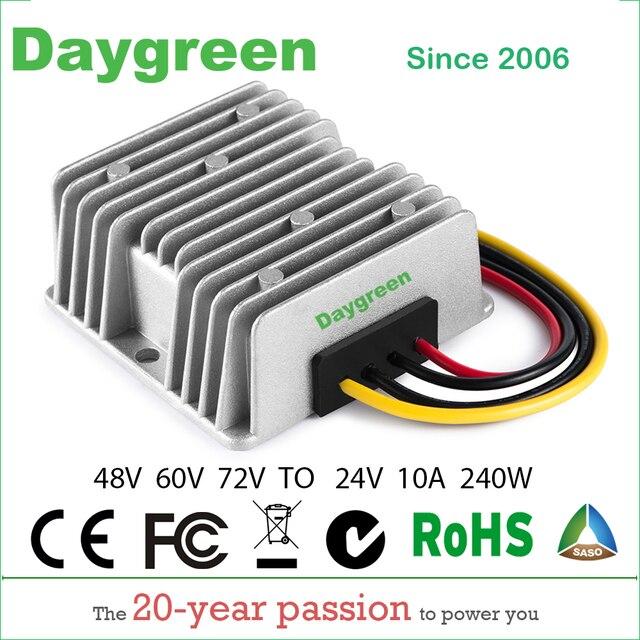 40 95V TO 24V 10A 20A  DC DC Step Down Converter  Regulator Waterproof Buck Module 48V 60V 72V TO 24V 10A 20APower Supply