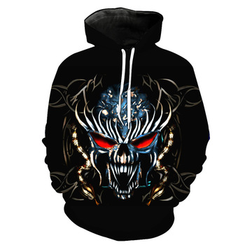 2020 new design of fashionable long-sleeved pullover hoodie fall trend wear front and rear 3D printed sports hoodies