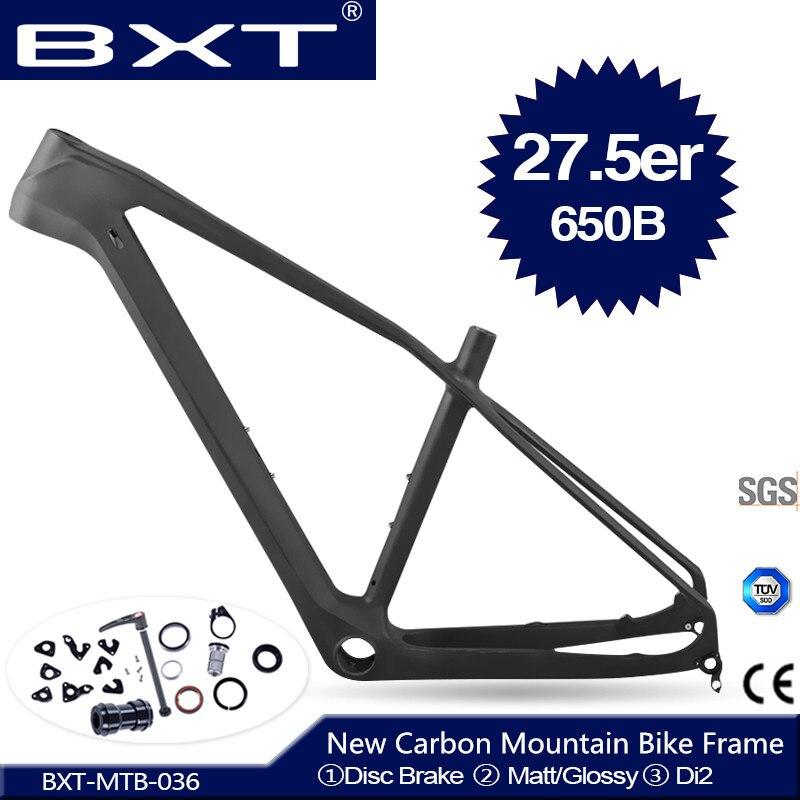 2020 Новинка BXT полностью углеродная mtb рама 27,5 er cadre carbone t800 рама карбоновая для горного велосипеда 27,5 супер легкая велосипедная Рама