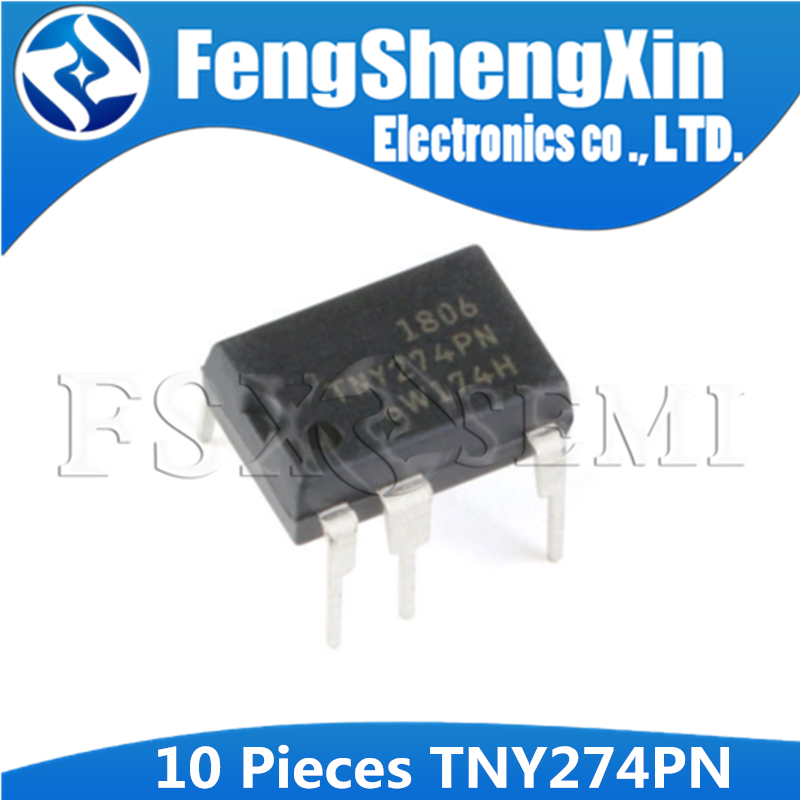 10pcs/lot <font><b>TNY274PN</b></font> DIP-7 TNY274 TNY274P LCD power chip image