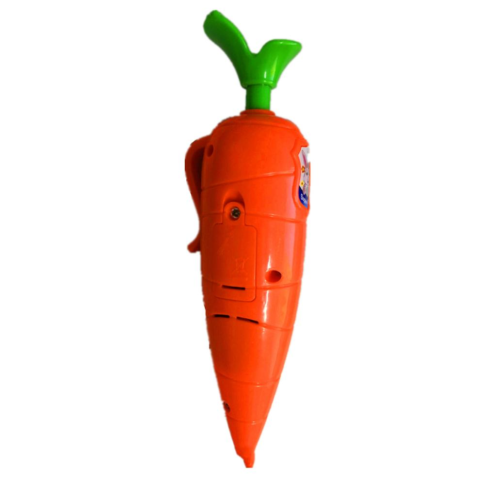 Kids Carrot Recorder Pen Toy,Also As Cute Ballpoint Pen For Boys Girls 24BE