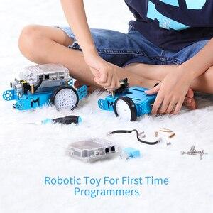 Image 3 - Makeblock mBot DIY Robot kiti, Arduino, giriş seviyesi programlama, çocuklar için STEM eğitim. (Mavi, Bluetooth sürümü)