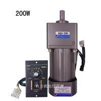 200W 220V AC motor speed motor with gear box 6GU 3K 180K gear motor