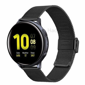 22mm 20mm For Samsung Gear sport S2 S3 Frontier Classic Band huami amazfit bip Strap huawei GT 2 galaxy watch active 42 46mm strap for samsung galaxy watch active 42 46 s3 s2 amazfit 2s 1 pace bip huawei watch gt 2 pro ticwatch e 1 pro nylon band 20mm