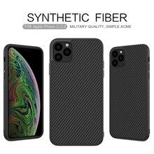 Case voor iPhone 11 Pro Nillkin Synthetische Fiber Carbon PC Back Cover Ultradunne Slim Telefoon Case voor iPhone 11 Pro max 6.1/6.5 inch