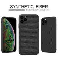 Fall für iPhone 11 Pro Nillkin Synthetische Faser Carbon PC Zurück Abdeckung Ultradünne Schlanke Handy Fall for iPhone 11 Pro Max 6,1/6,5 zoll
