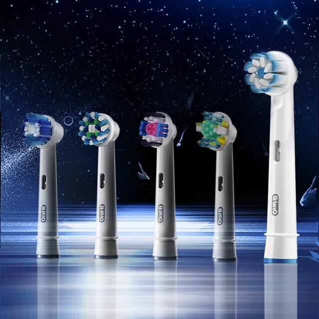 1 opakowanie Oral B precyzyjnym czyszczeniem głowice szczotek zamienniki elektryczne głowice do szczoteczek do zębów głowice szczotek higiena jamy ustnej ząb tablica usuń dorosłych EB20