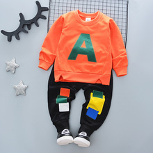 Children Clothing Child Girl Set Autumn Baby My Clothes Outfit Suit Infant 3 Year old Boys Clothes Kids Todler Girl Clothes 2PCS cheap Fashion Hooded Sets Pullover Cotton Polyester Full Regular Fits true to size take your normal size Coat Solid Picture Color