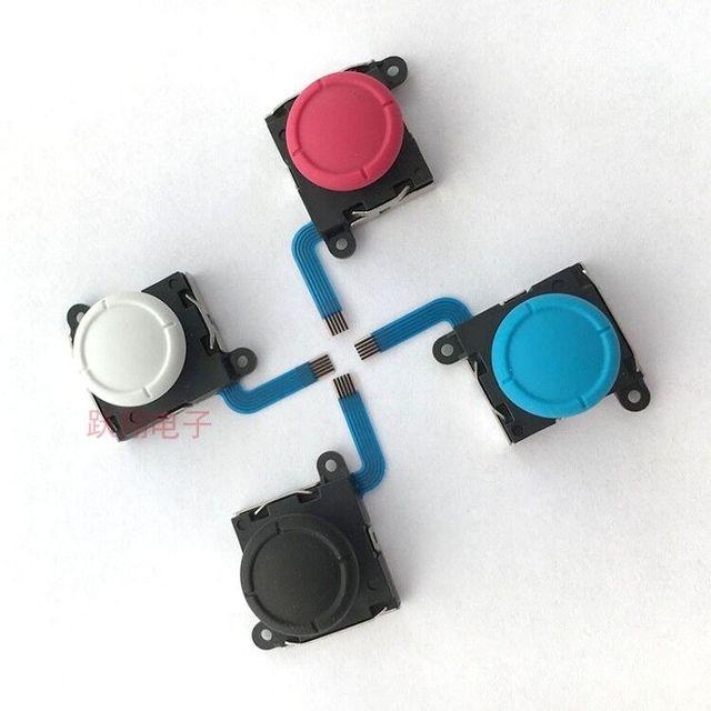 50 sztuk/partia oryginalny nowy dla nintendo NS przełącznik lite konsola joy con kontroler analogowy joystick kciuk kij przycisk rocker