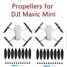 8 قطعة Mavic المروحة الصغيرة مجموعة رحلة أكثر هدوءا وقوة التوجه ل DJI Mavic مراوح صغيرة غير الأصلي