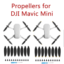 8 sztuk Mavic Mini zestaw ze śmigłem cichszy lot i mocny ciąg dla DJI Mavic Mini śmigła nieoryginalne