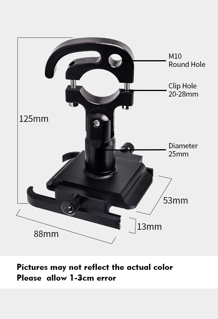 Motorcycle Mobile Phone Holder Suitable for Bicycles/Motorcycles/Electric Vehicles/Scooters 15